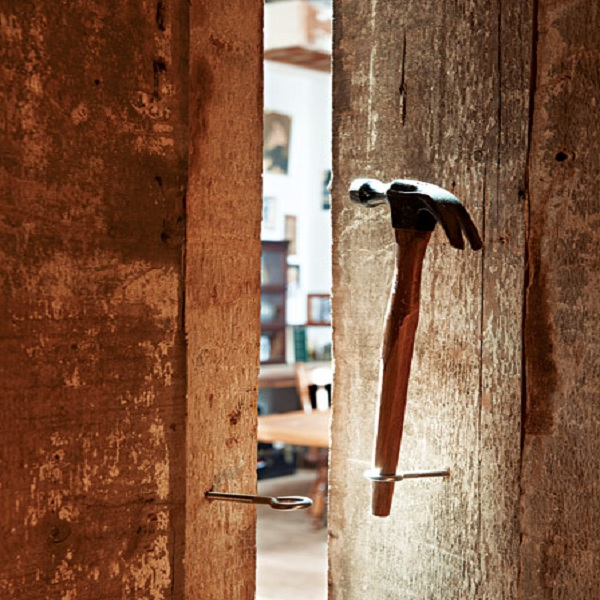 door in studio